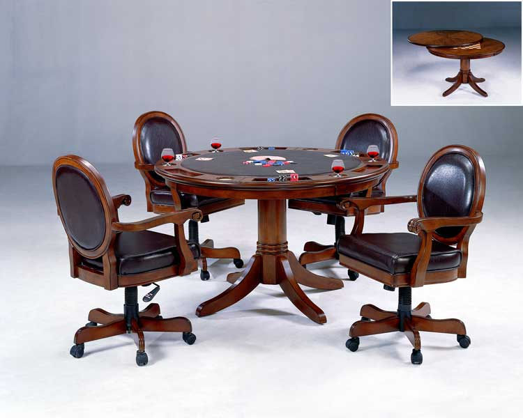 Hillsdale Warrington Game Table Set