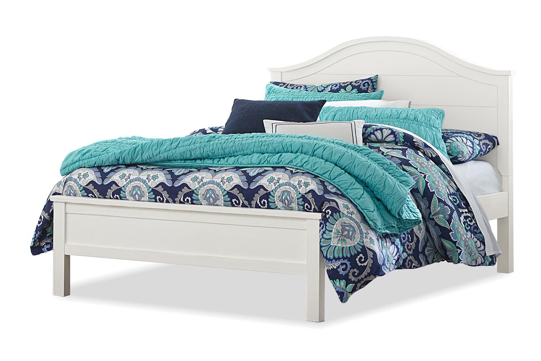 NE Kids Highlands Bailey Arch Bed - White