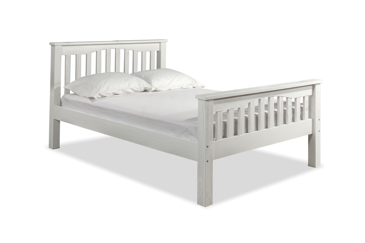 NE Kids Highlands Harper Bed - White
