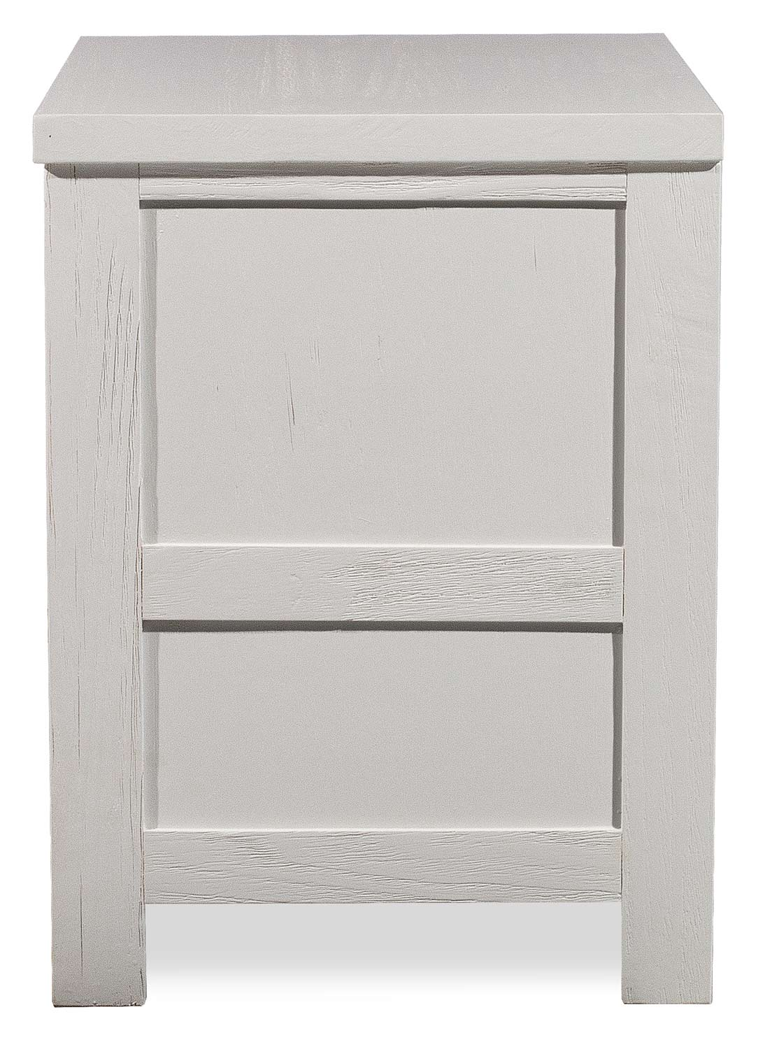 NE Kids Highlands Nightstand - White Finish