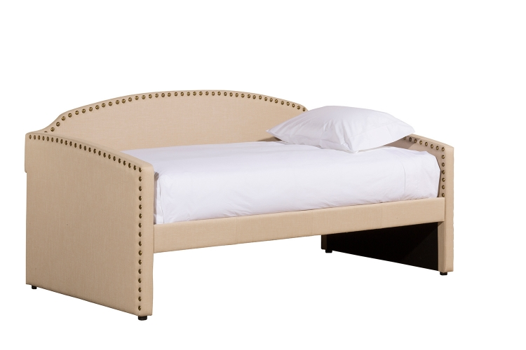 lani daybed with trundle   cream hillsdale daybeds   hillsdalefurnituremart    rh   hillsdalefurnituremart