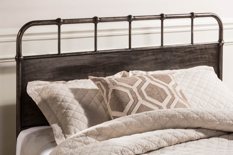 Grayson Headboard - Rubbed Black