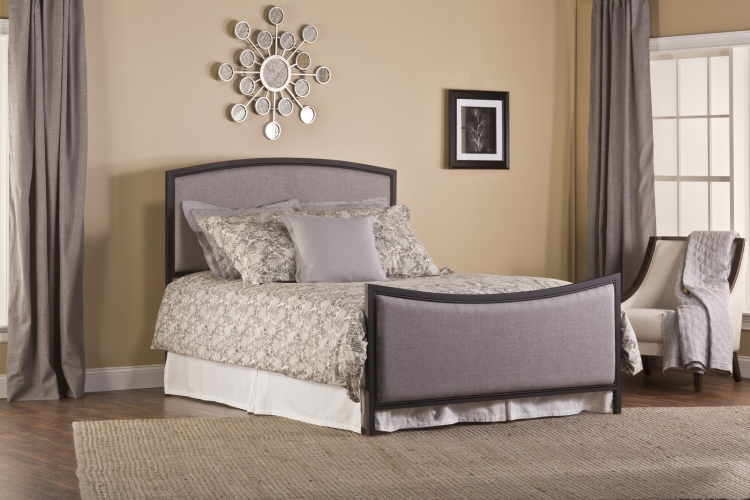 Bayside Bed Set - Textured Black - Grey