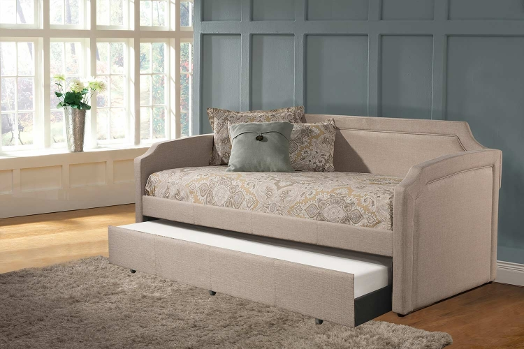 Paxton Daybed with Trundle - Cream