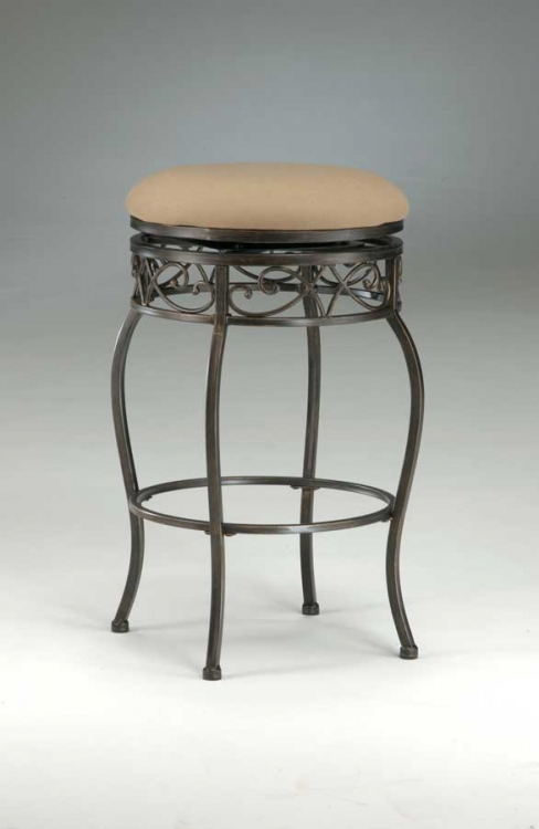 Lincoln Swivel Bar Stool - Backless