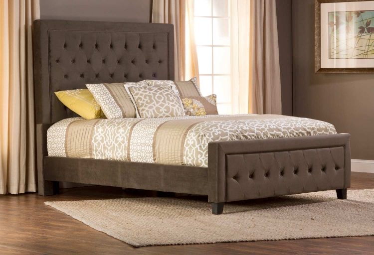 Kaylie Bed - Pewter