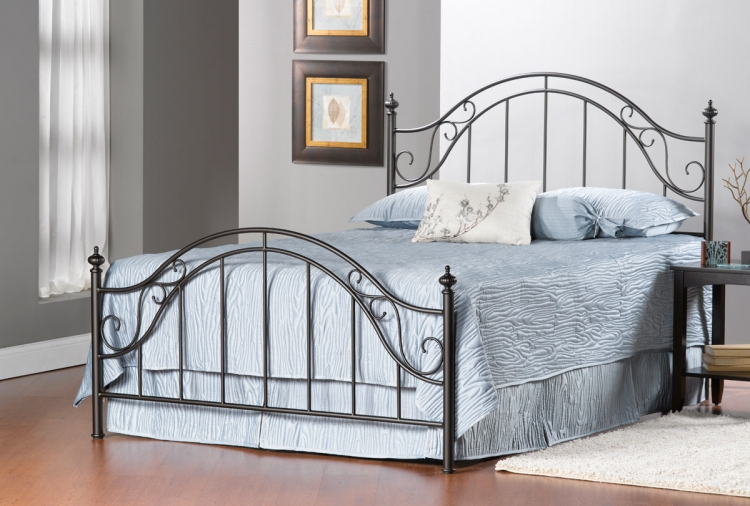 Clayton Bed - Matte Brown