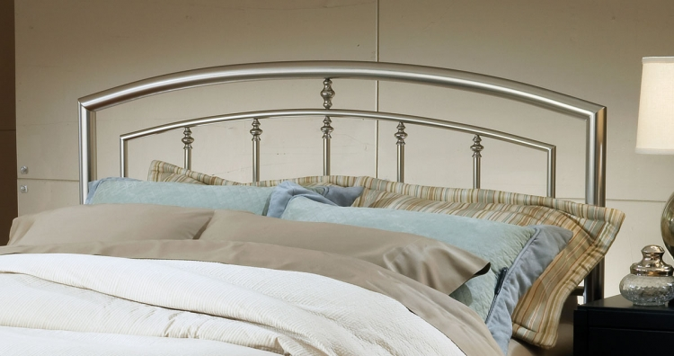 Claudia Headboard - Matte Nickel