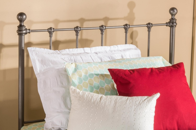 Molly Headboard - Black Steel