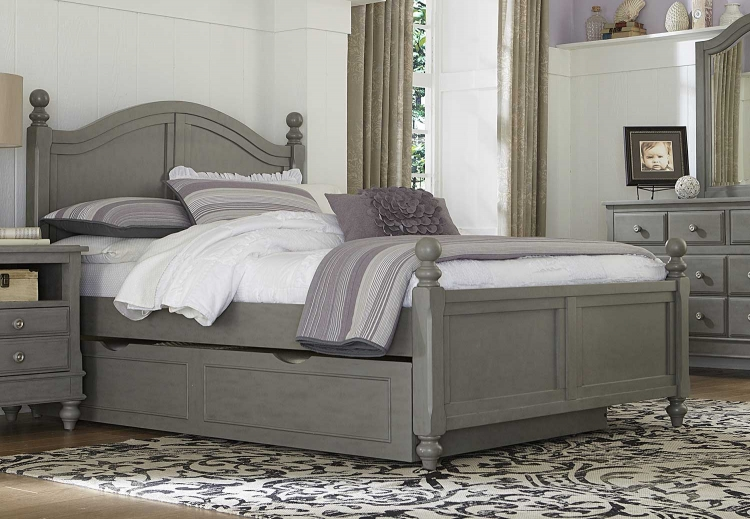 Lake House Payton Arch Bed With Trundle - Stone