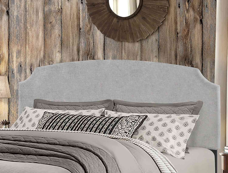 Desi Headboard - Glacier Gray Fabric