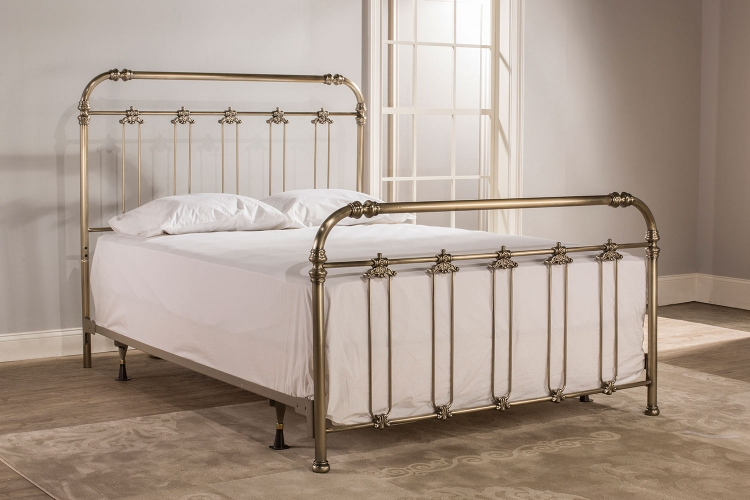 Samantha Bed - Soft Gold
