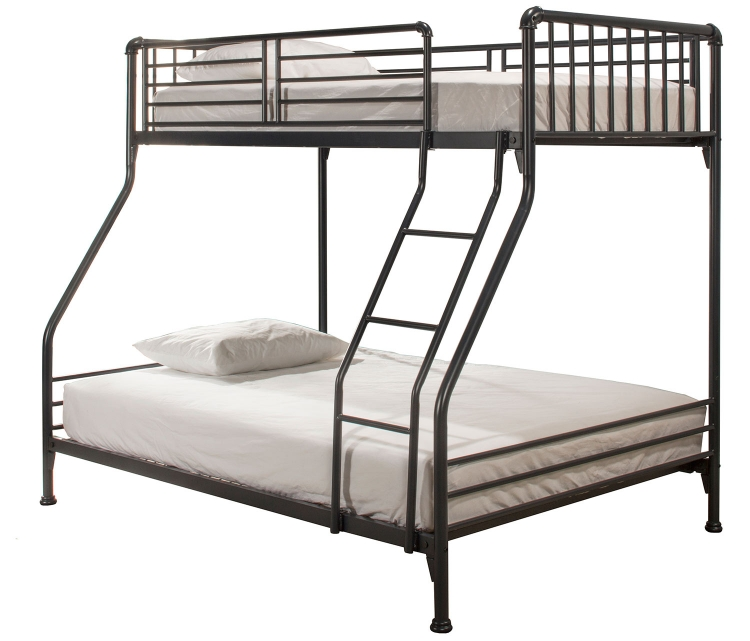 Brandi Twin/Full Size Bunk Bed - Navy
