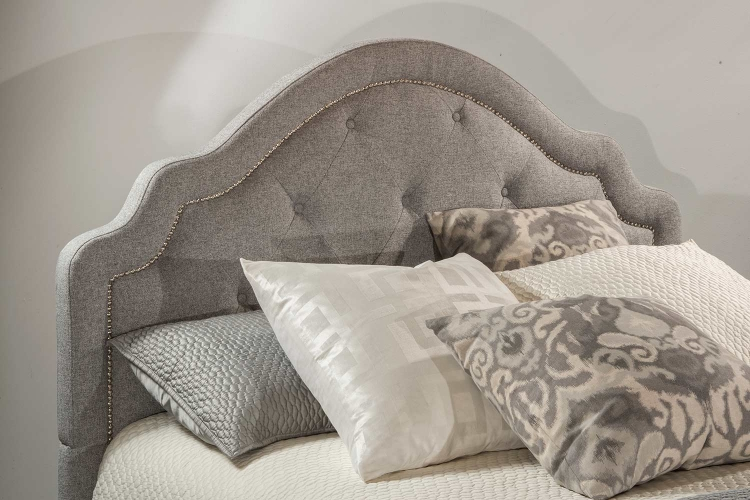 Belize Headboard - Light Grey