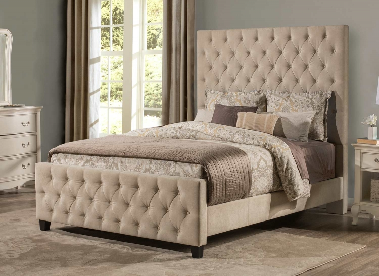 Savannah Bed - Beige