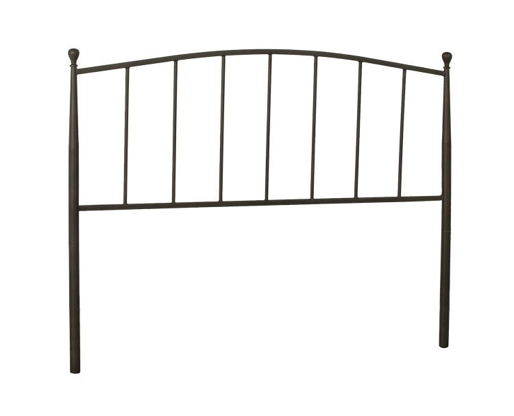 Warwick Metal Headboard with Frame - Gray Bronze