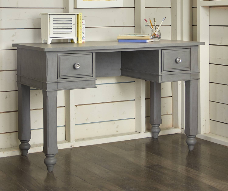 Lake House Writing Desk - Stone