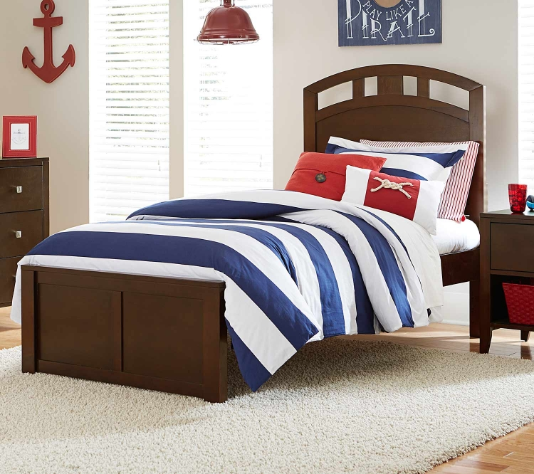 Pulse Arch Bed - Chocolate