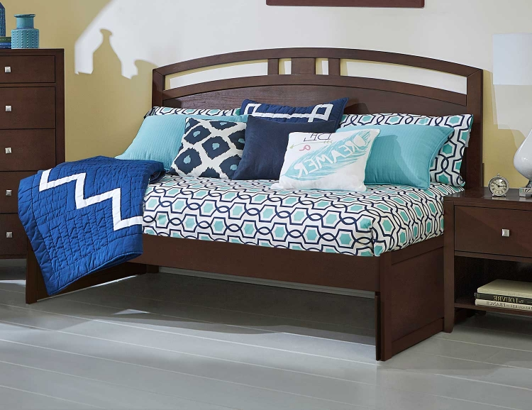 Pulse Arch Twin Daybed - Chocolate