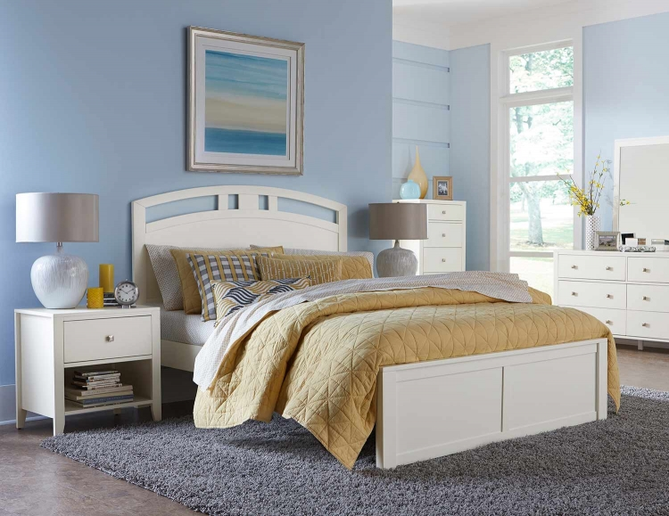 Pulse Arch Bedroom Set - White