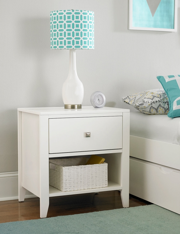 Pulse Nightstand - White