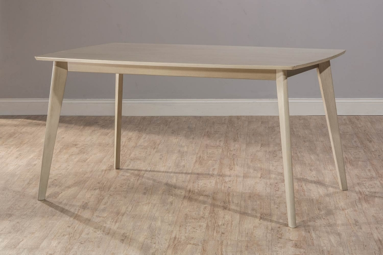 Bronx Rectangle Dining Table - Light Weathered Gray