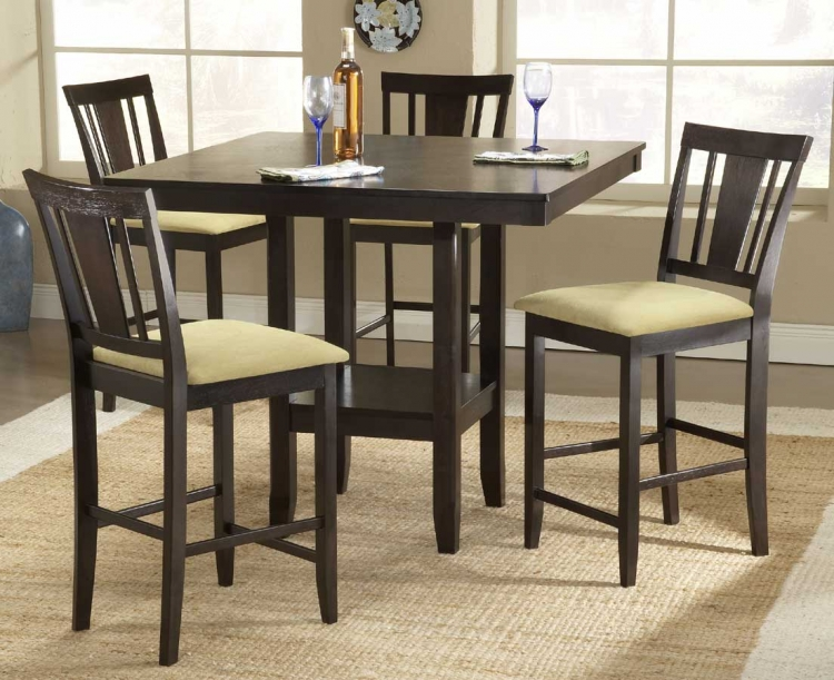 Arcadia 5-Piece Counter Height Dining Collection