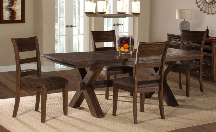 Park Avenue 5-Piece Dining Set - Walnut