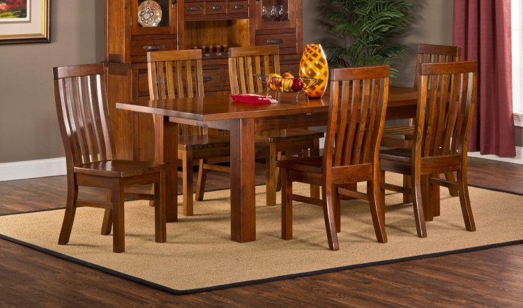 Outback Dining Set - Distressed Chestnut