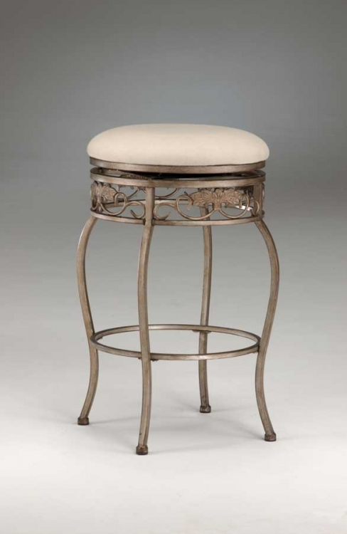 Bordeaux Swivel Counter Stool - Backless