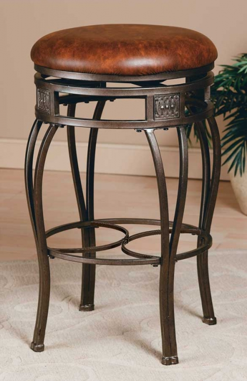 Montello Swivel Bar Stool - Backless