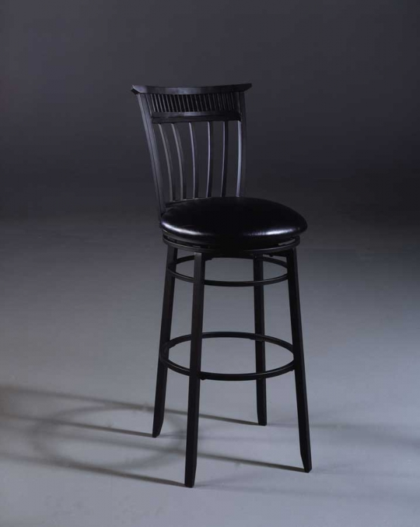 Cottage Metal Swivel Counter Stool