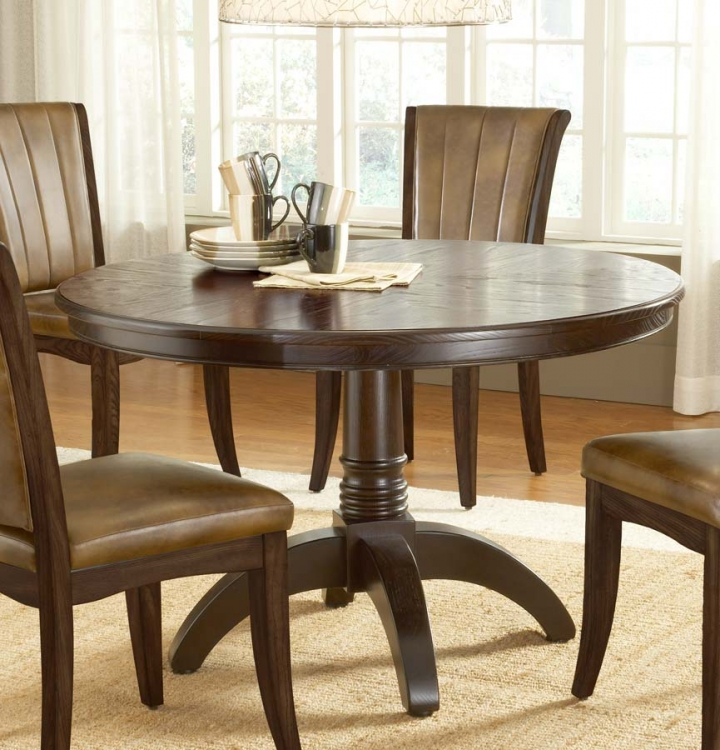 Grand Bay Round Dining Table - Cherry