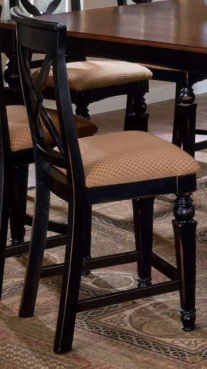 Northern Heights Non-swivel Wood Counter Stools