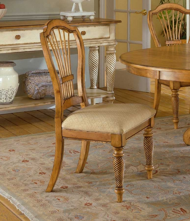 Wilshire Side Chair - Antique Pine