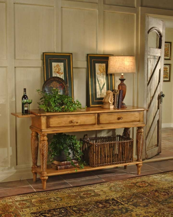Wilshire Sideboard Table - Antique Pine