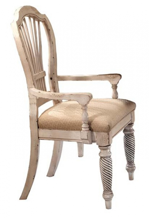 Wilshire Arm Chair - Antique White