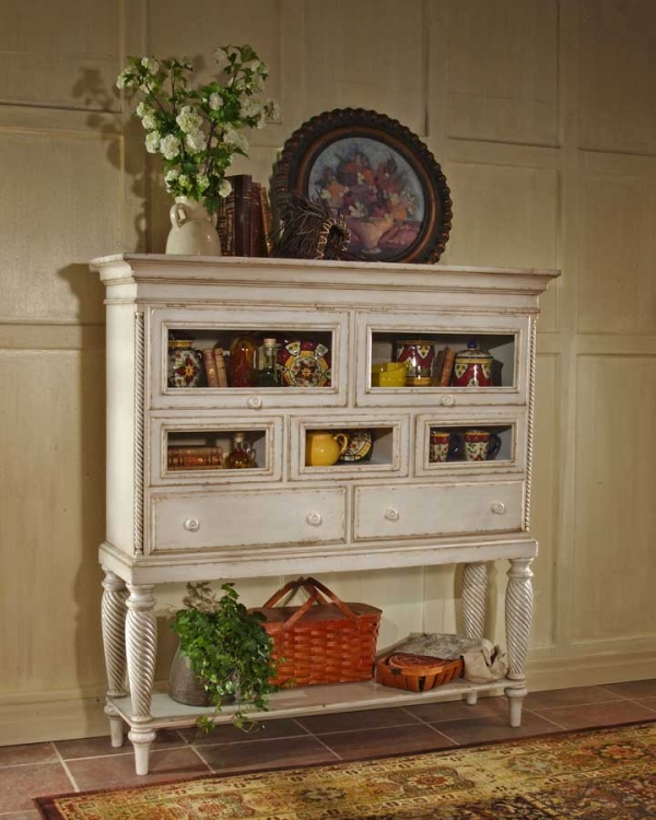 Wilshire Sideboard Cabinet - Antique White