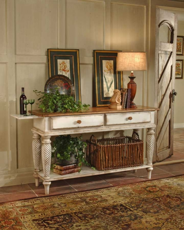 Hilalewilshire Sideboard Table Antique White