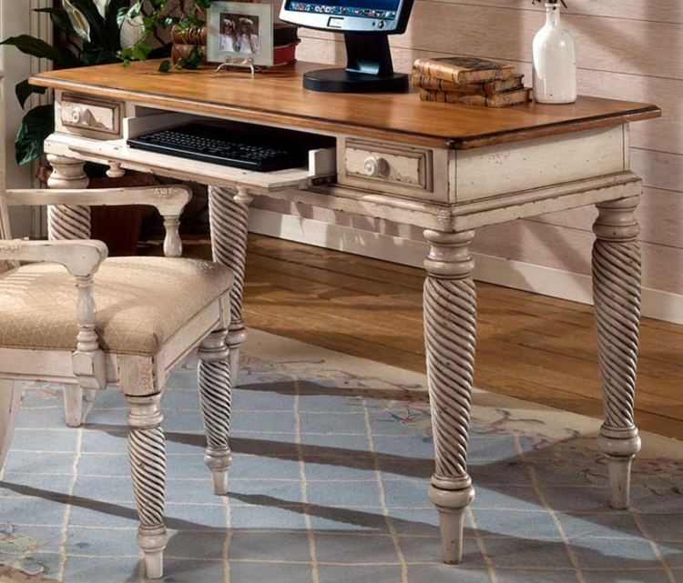 Wilshire Desk - Antique White