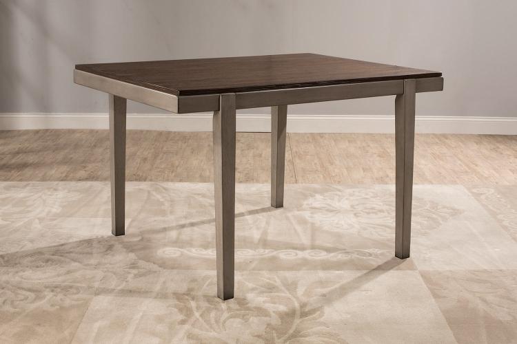 Garden Park Dining Table - Gray/Espresso