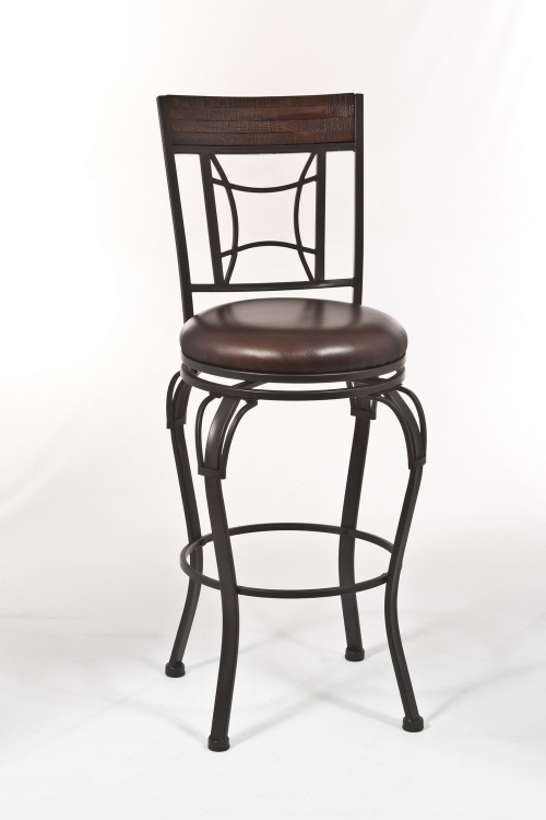 Hillsdale Fairfox Swivel Bar Stool Oak 4650 830