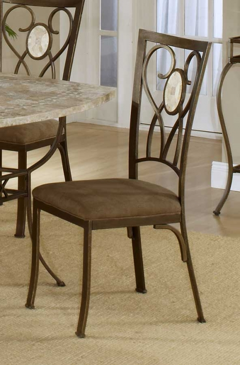 Brookside Oval Fossil Back Dining Chair