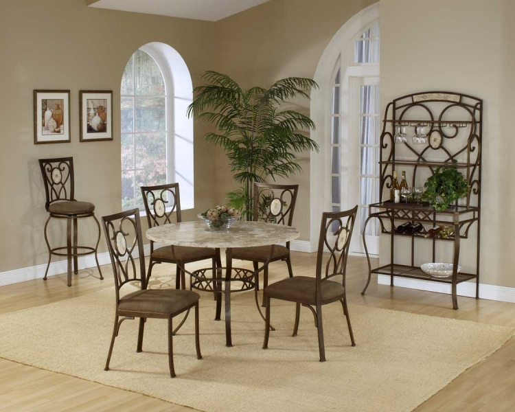 Brookside Round Dining Collection - Oval Back