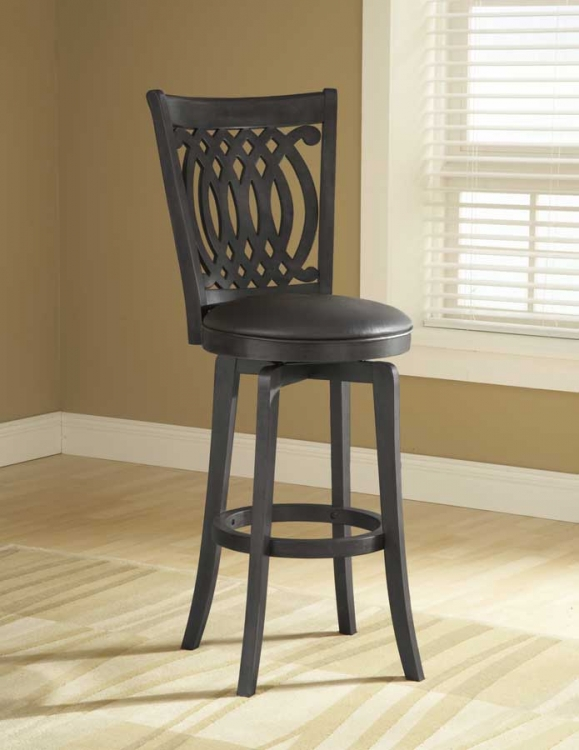 Hillsdale Dynamic Designs Pub Table Brown Black 4975 840