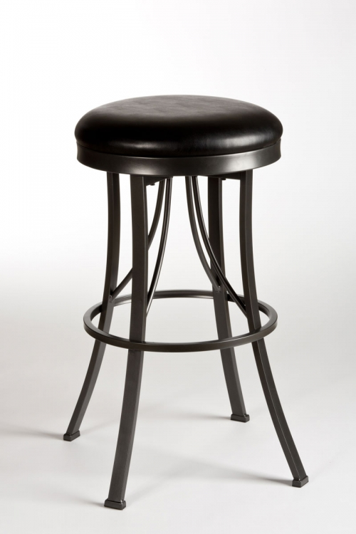 Ontario Backless Counter Stool - Pewter