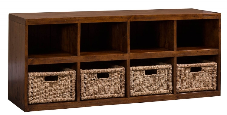 Tuscan Retreat Storage Cube with Baskets