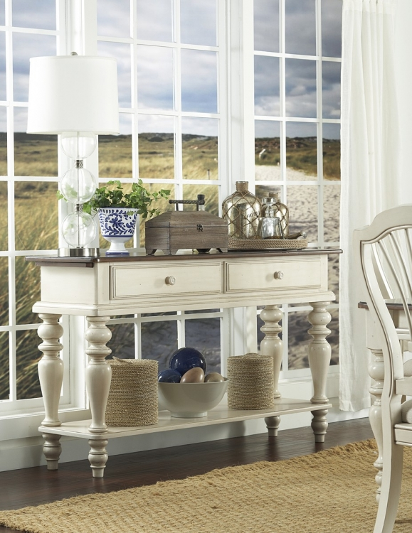 Pine Island Sideboard - Old White