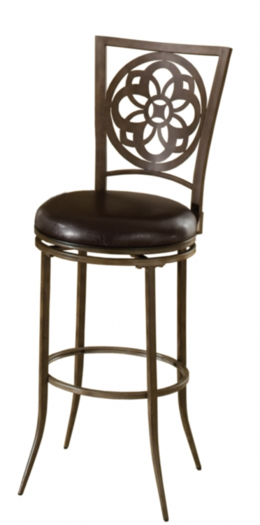 Marsala Swivel Bar Stool - Gray