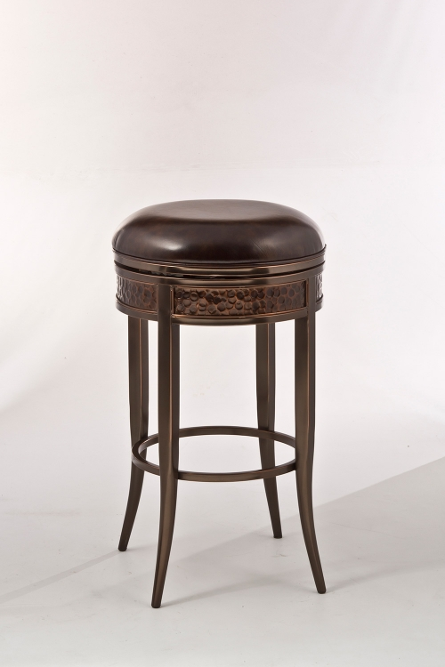 Hillsdale Carrara Backless Counter Stool Blackwash